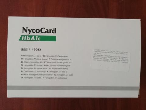 1116083 Набор реагентов для диагностики in-vitro гликозилированного гемоглобина (NycoCard HbA1c), 24 теста