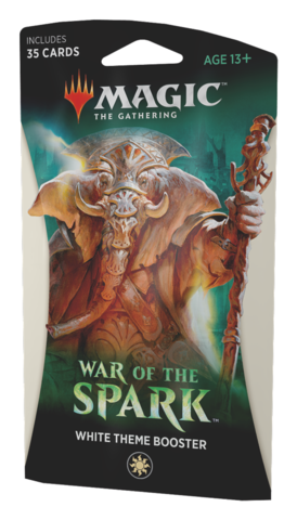 Тематический бустер выпуска «War Of Spark»: White (английский)