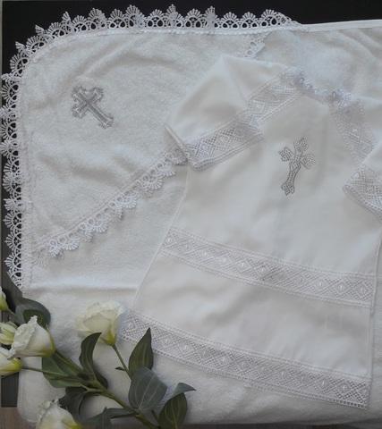 Крестильный набор Классика (серебро)