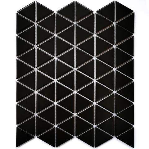 Мозаика керамическая Reno Black matt 252х291