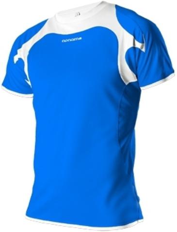 Футболка для бега Noname Running 2012 blue-white