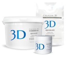 Альгинатная маска AQUA BALANCE для лица и тела с гиалуроновой кислотой, Medical Collagene 3D