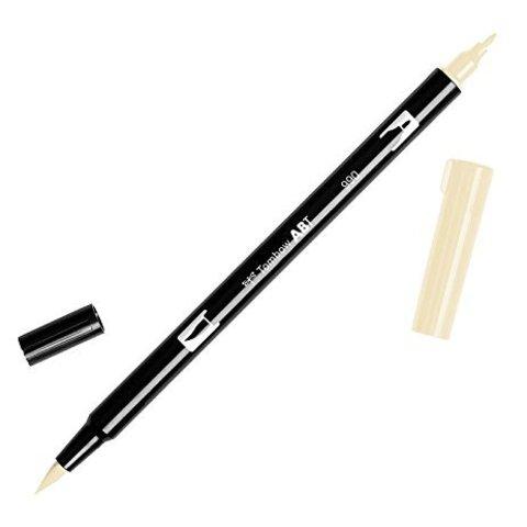 Маркер с двумя наконечниками Tombow Dual Brush Marker- Цвет 990 Light Sand