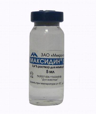 Максидин 0,15     1 штука 5 мл