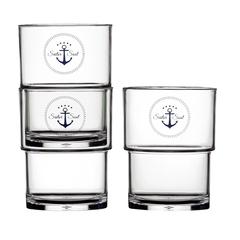 STACKABLE GLASSES, SAILOR SOUL