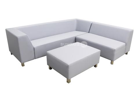 Комплект садовой мебели из непромокаемого текстиля Bizzarto MARBELLA M-1012