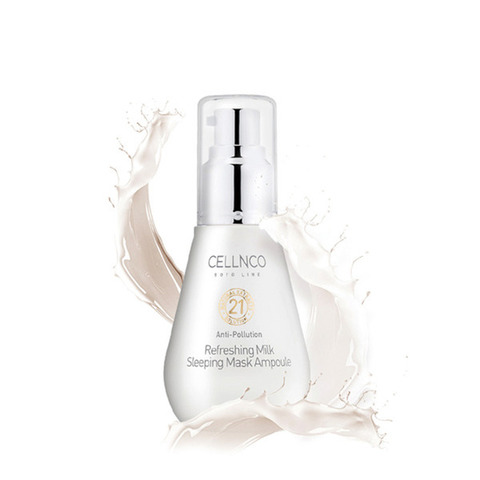 Сыворотка CELLNCO Botoline Refreshing Milk Sleeping Mask Ampoule 50ml