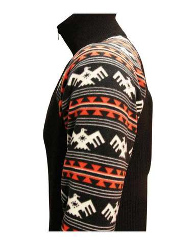 Фуфайка шерстяная с подогревом RedLaika Arctic Merino Wool RL-TM-07 (рукава флис)