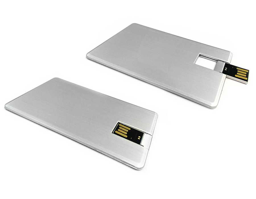 usb флешка карточка металлическая под нанесение