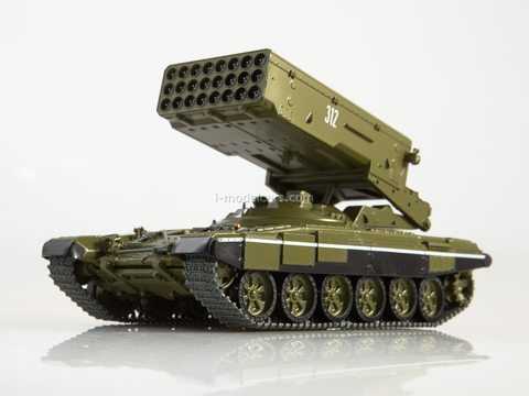 Tank T-90-TOS1A Solntsepek Our Tanks #21 MODIMIO Collections