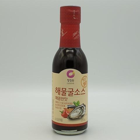 Устричный соус острый Original Oyster Sauce Hot DAESANG, 250 гр