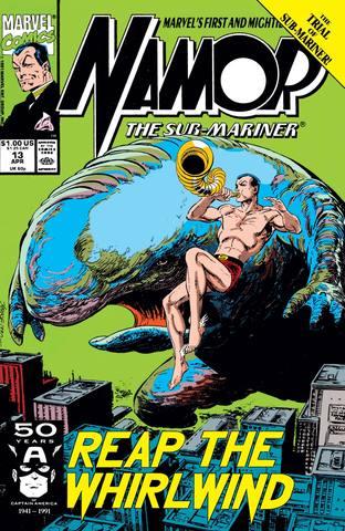 Namor: The Sub-Mariner #13
