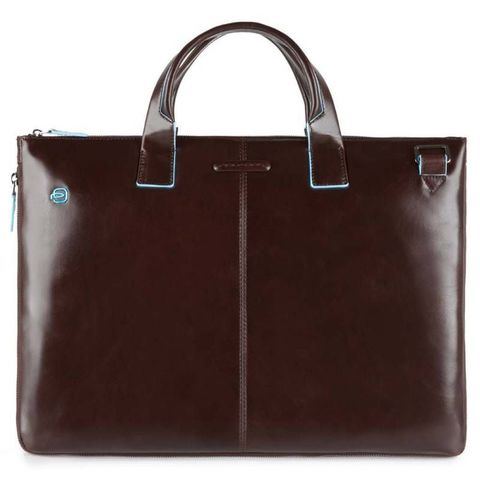 Сумка для ноутбука Piquadro Blue Square (CA4021B2/MO) коричневый кожа