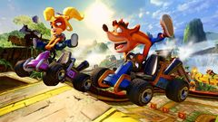 PS4 Crash Team Racing Nitro-Fueled (английская версия)