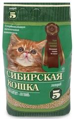 Наполнитель для кошачьего туалета, Сибирская Кошка Лесной для котят