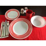 Тарелка обеденная 27 см Brushed Red, артикул 1118387, производитель - Corelle, фото 4