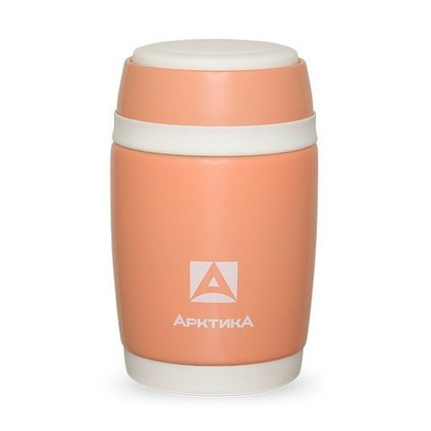 Термос для еды Арктика (0,48 литра), розовый