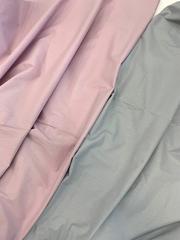 Премиум сатин мерсеризированный (100% хлопок) розово-сиреневый
