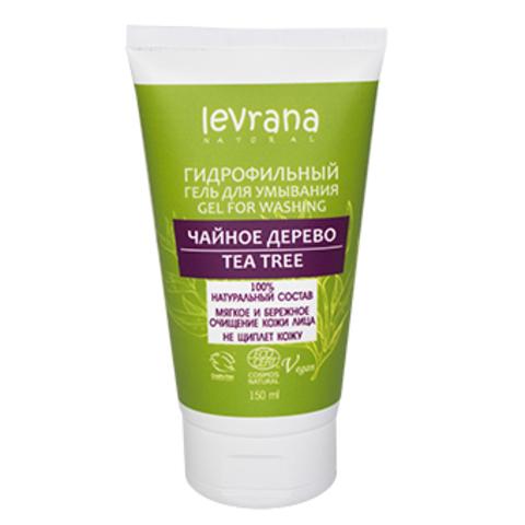 Натуральный гидрофильный гель для умывания (Levrana)