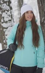 Утеплённая прогулочная лыжная куртка Nordski Montana Sky женская
