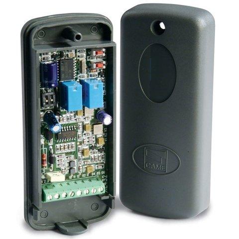 RE432RC - Радиоприемник 2-х канальный в корпусе для брелоков с динамическим кодом 433.92 МГц Came