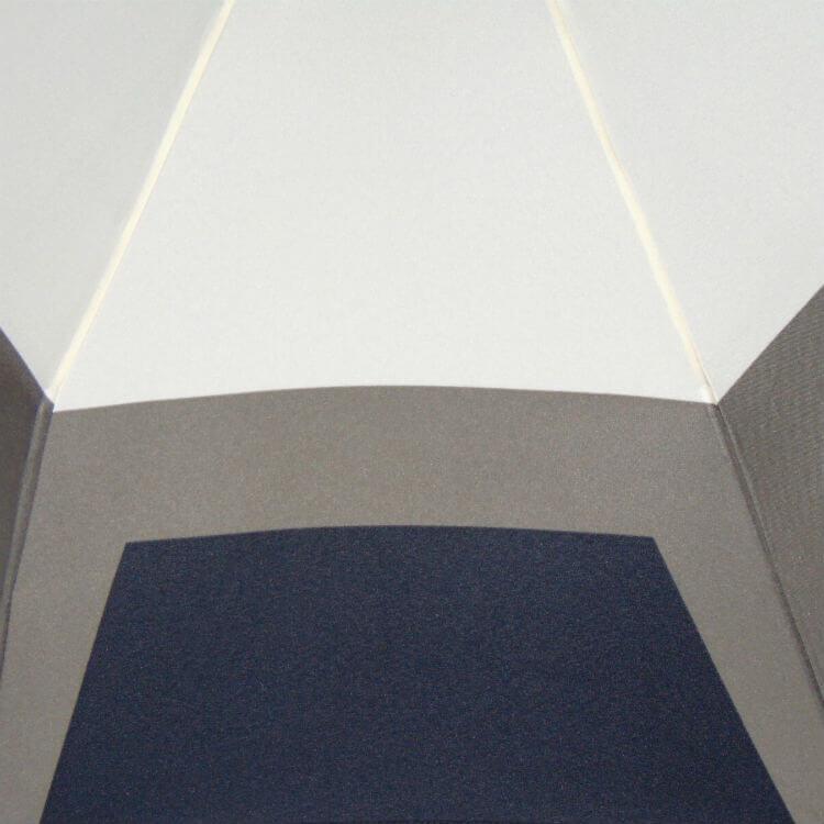 Зонт складной P.Cardin 82518 Géométrique white