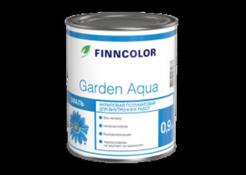 Finncolor Garden Aqua / Финнколор Гарден Аква акриловая эмаль