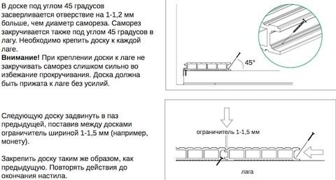 Инструкция монтажа для стартовой клипсы и Ulmus (Вяз)