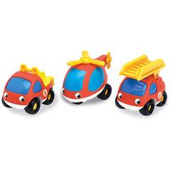 Smoby  Набор пожарных машинок (750032)