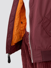 Бомбер Alpha Industries L-2B Scout W Maroon Женский (Бордовый)