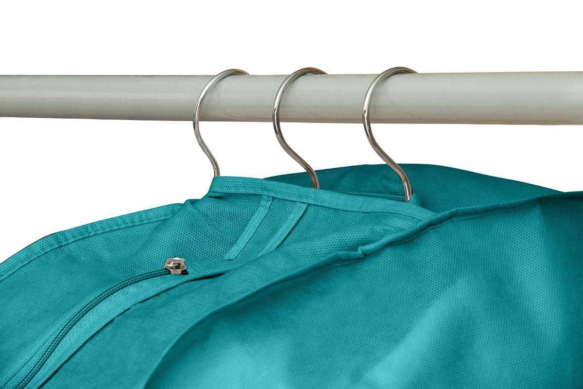 Чехол для одежды двойной короткий 100х60х20 см, Милан