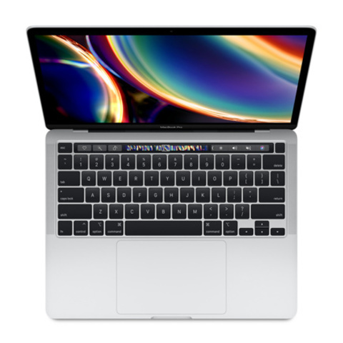 Apple MacBook Pro 13 Retina Touch Bar MXK72 Silver (1,4GHz Core i5, 8GB, 512GB, Intel Iris Plus Graphics 645)