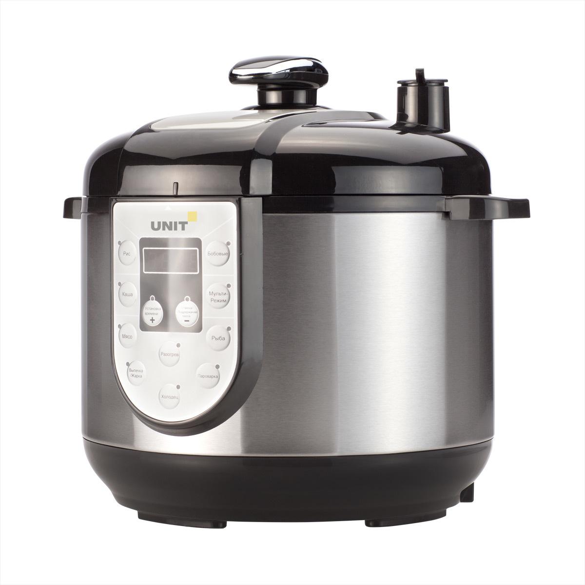 Мультиварка Скороварка с давлением с керамической чашей большого объема Unit USP-1095 D цена