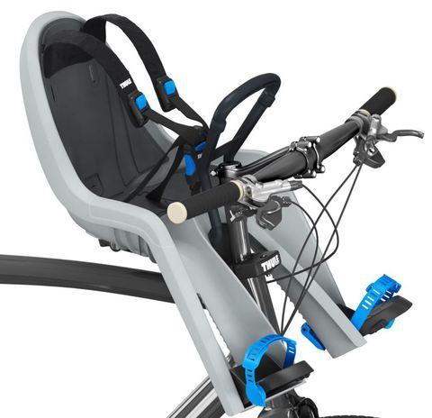Картинка велокресло Thule RideAlong Mini светло-серое
