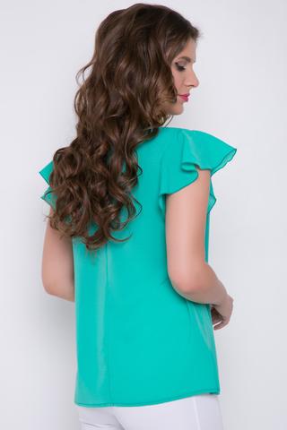 """<p><span>Романтическая блуза стильного кроя.Гармонично сочетается с множеством фасонов брюк и юбок.Рукав """"крыло"""".</span></p>"""