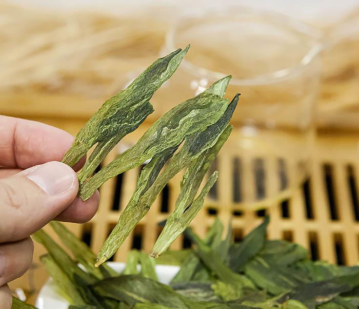 TEA-CH135 Китайский зеленый чай «Обезьяний Главарь» (Тай Пин Хоу Куй, 10 гр) фото 07