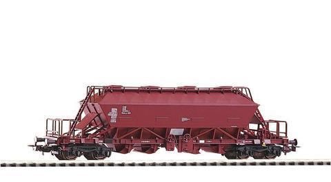 Закрытый 4-х осный саморазгружающийся вагон-хоппер для перевозки поташа Uaoos9331 DR IV эпоха