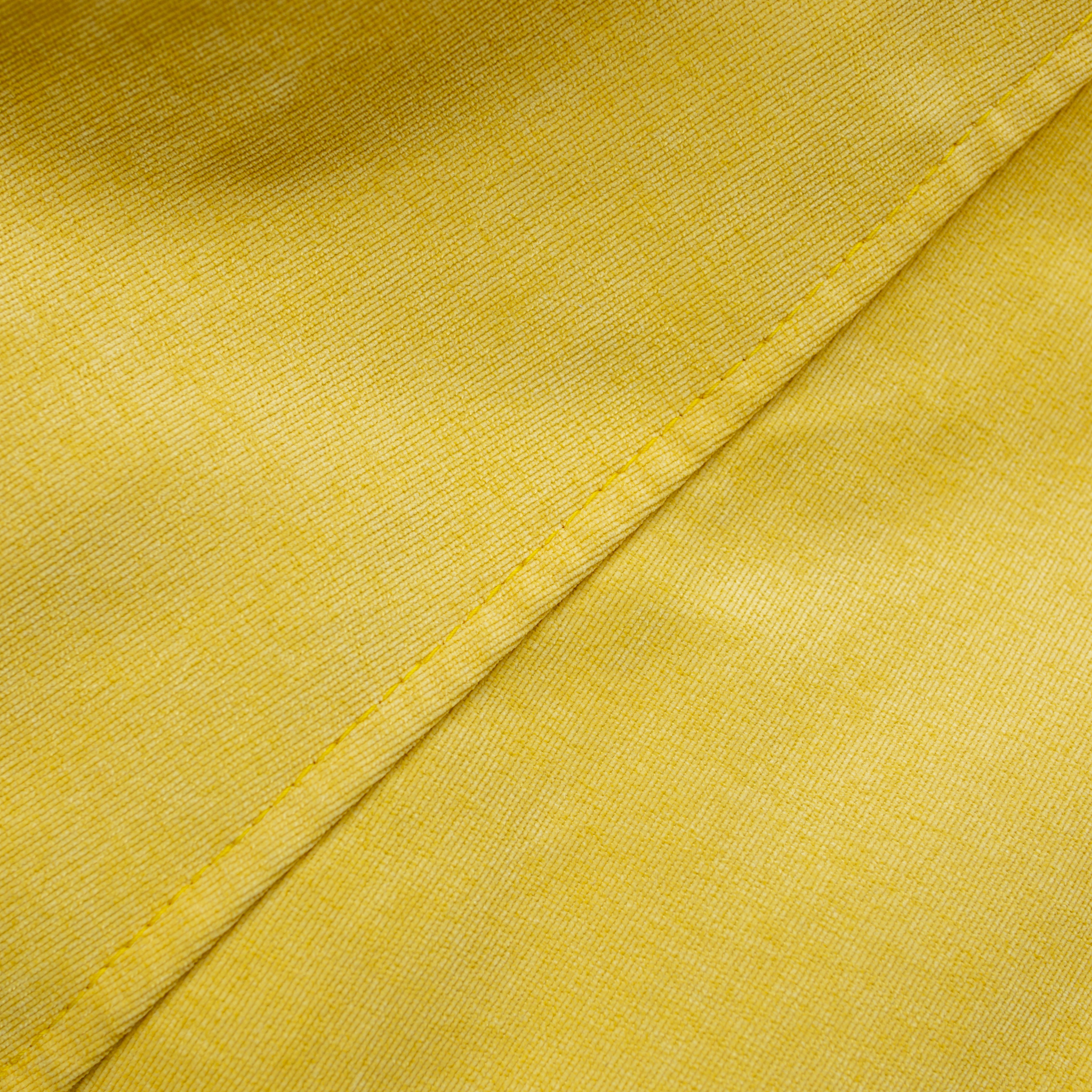 Груша М микровельвет (жёлтая)