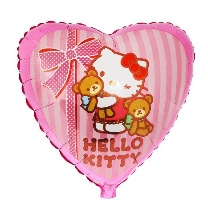 Шары Hello Kitty Шар фольга Hello Kitty с медвежатами 700-nw.jpg
