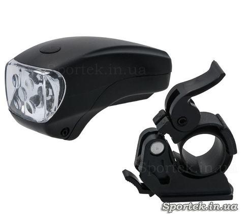 Передний двухрежимный маленький велосипедный фонарь (JY-286)