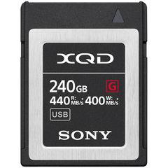 Карта памяти Sony XQD 240GB G серия 440/400 MB/s