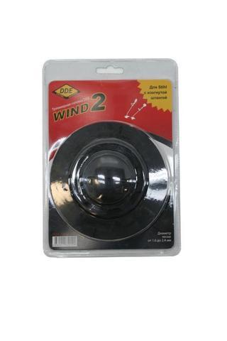 Головка триммерная серия WIND DDE Wind  2 аналог Stihl AutoCut 5-2 (М8х1,25 мм правая.) (640-100)