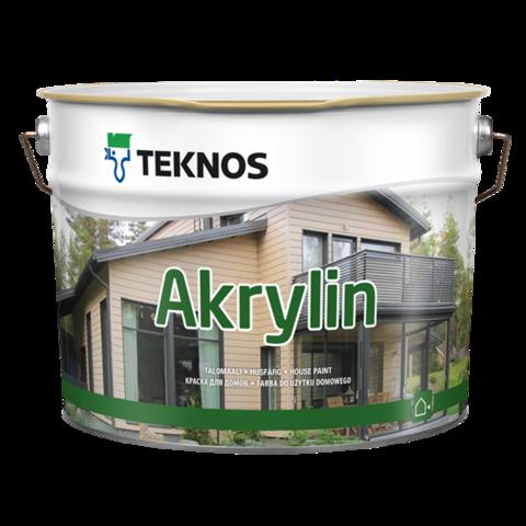 TEKNOS AKRYLIN/Текнос Акрилин Водоразбавляемая акрилатная краска