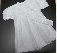 Набор для девочки, 2 предм. (трикотаж), Белый/кремовый