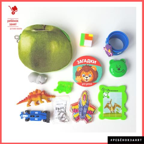 Детский набор МИНИ, в кошелёчке более 10 предметов, чтобы занять ребёнка в дороге / вне дома