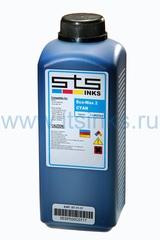 Эко-сольвентные чернила STS Eco-Max2 Cyan 1000 мл