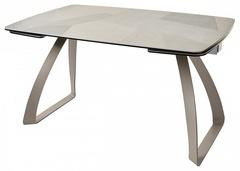 "Стол ECLIPSE 137 Spanish ceramic ""пэчворк"" HT-052 — темно-коричневый"
