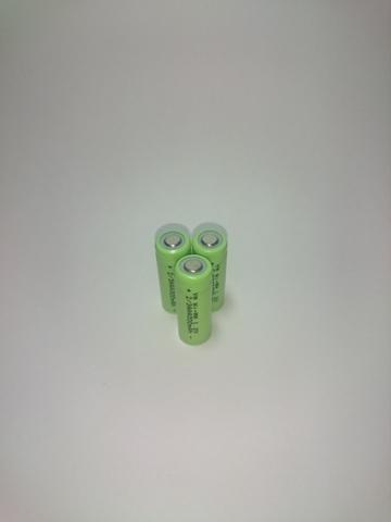 Аккумулятор 2/3ААА  Ni-Mh 300mAh 1,2V 0,3Wh