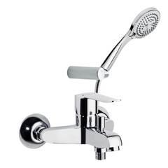 Смеситель для ванны с изливом и душевым комплектом YPSILON PLUS 6405T3