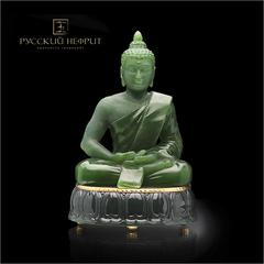Будда. Зелёный нефрит.